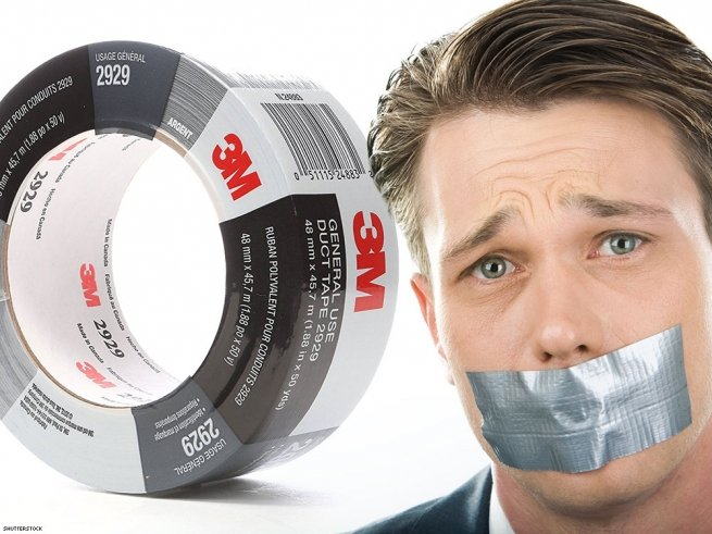 30. Duct tape.