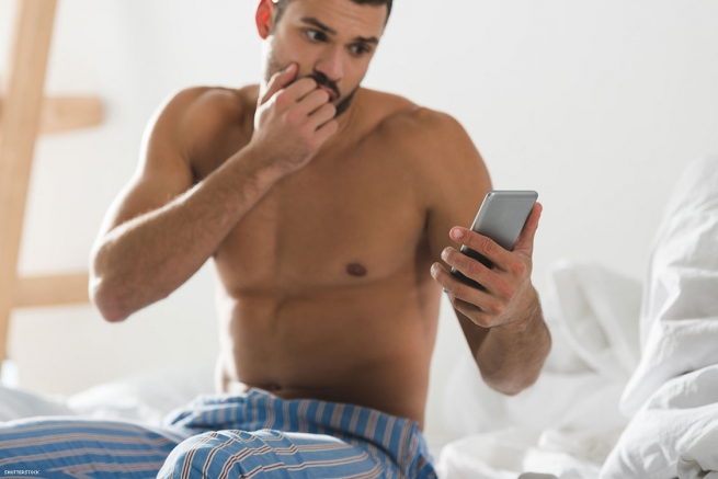 7. If you see someone on social media who you know is a porn star or escort, but the name you know them by is not the name displayed, don't message them there.
