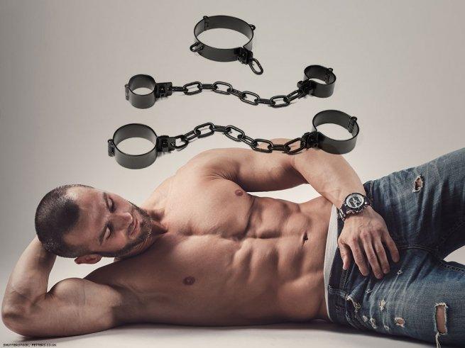 11. Wrist and ankle manacles.