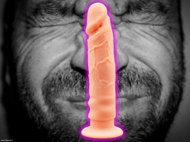 """14. Don't spend money on expensive, """"realistic"""" dildos."""