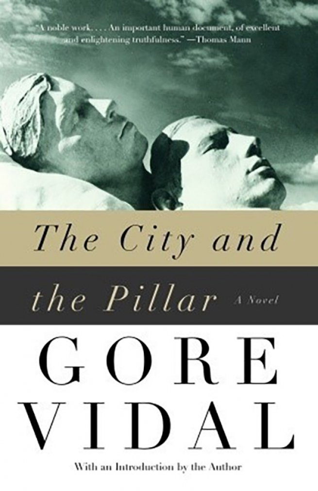 11. The City and the Pillar, by Gore Vidal