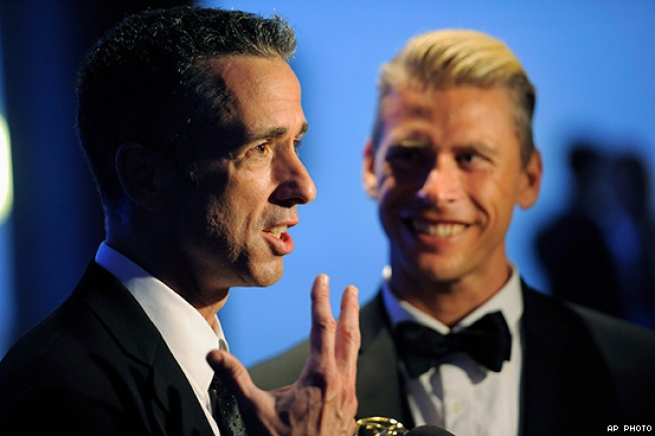 Dan Savage and Terry Miller