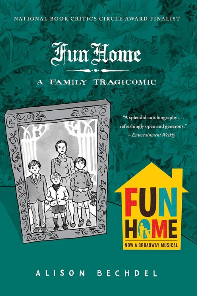 18. Fun Home, by Allison Bechdel