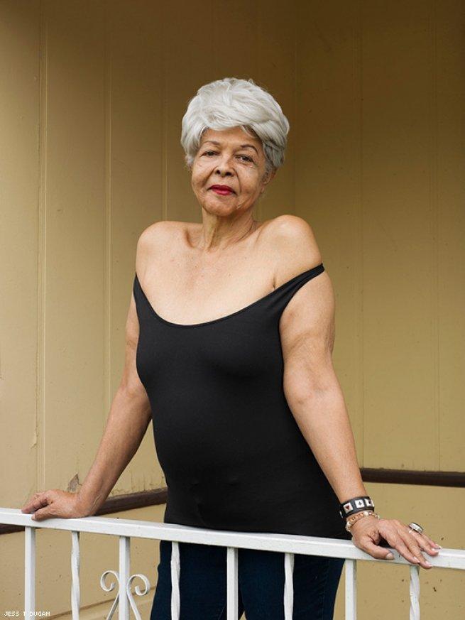 Duchess Milan, 69, Los Angeles, CA, 2017 Image courtesy of projects+gallery and Jess T. Dugan.