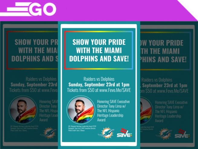 Miami Dolphins Honor Save LGBTQ Leader