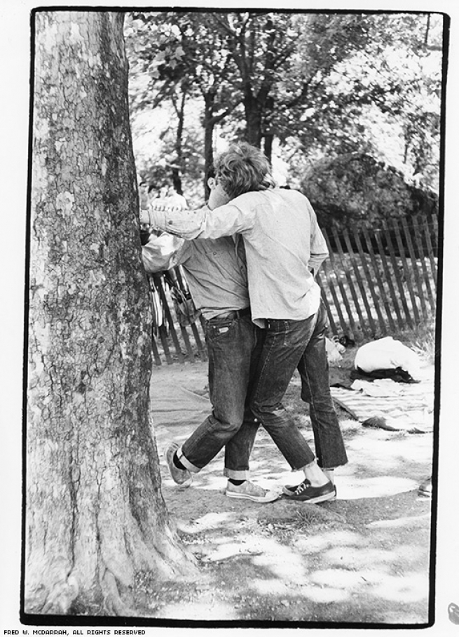 In Central Park after the march, June 28, 1970.