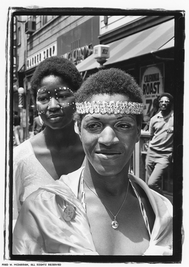 At the Gay Pride March, June 27, 1971.