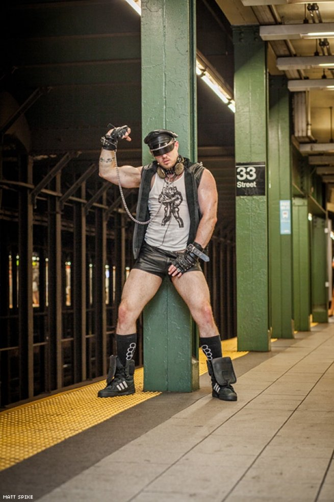 Are any of these guys inhibited? It looks like everyone loves to go out in public in very sexy gear and clothing.