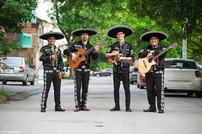 Marachi Bands, or Any Other Sombrero-Related Latinx Outfit