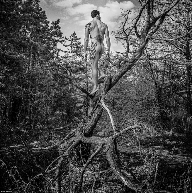 Men In Nature: Photographs by Ron Amato