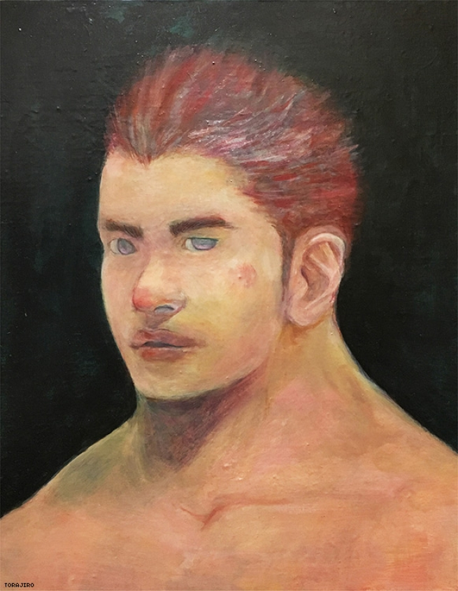 A Man With Red Hair (oil painting)