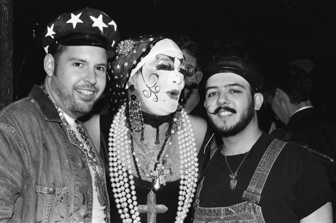 Sisters of Perpetual Indulgence with Revelers at The Stud (undated)