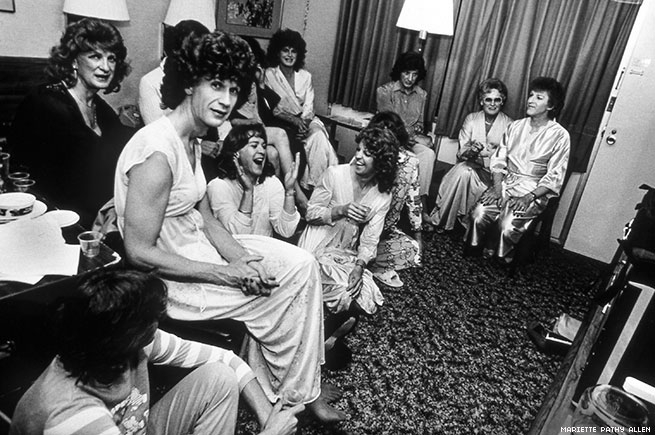 Mariette Pathy Allen, Pajama Party at Fantasia Fair, 1985. Courtesy of the artist.
