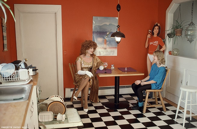 Mariette Pathy Allen, Drag babysitter, 1989. Courtesy of the artist.