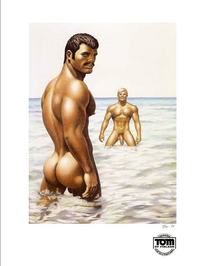Tom of Finland, 'Hot Water', 1980