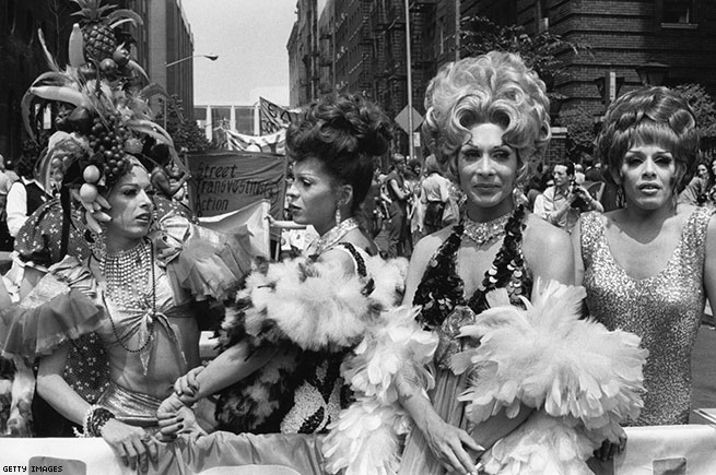 STAR At Gay Pride Day March, 1973