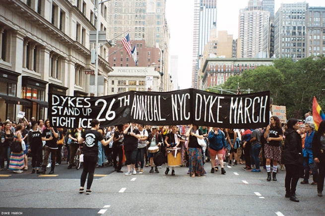 2. The NYC Dyke March -  June 29