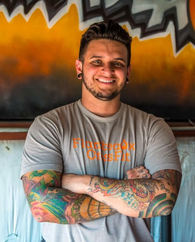 Dillon King, founder of Flambeaux CrossFit Metairie, Louisiana.