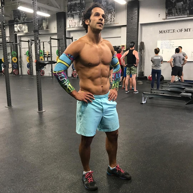 Nuno Costa, competitive CrossFit athlete, and the only out gay man to qualify for the CrossFit Games.
