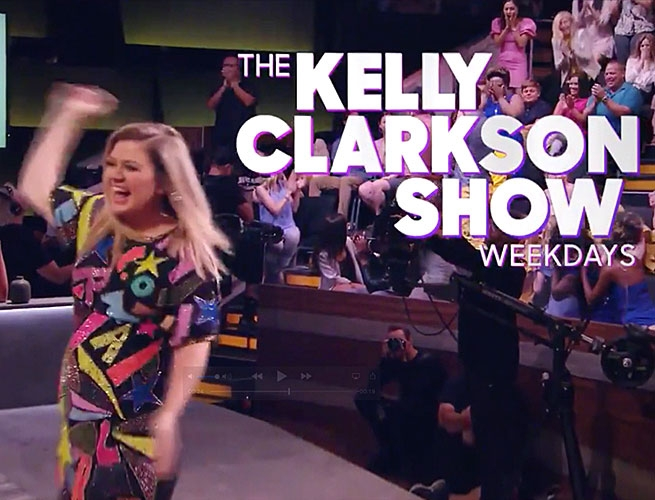 The Kelly Clarkson Show (Premiered September 9 on NBC)
