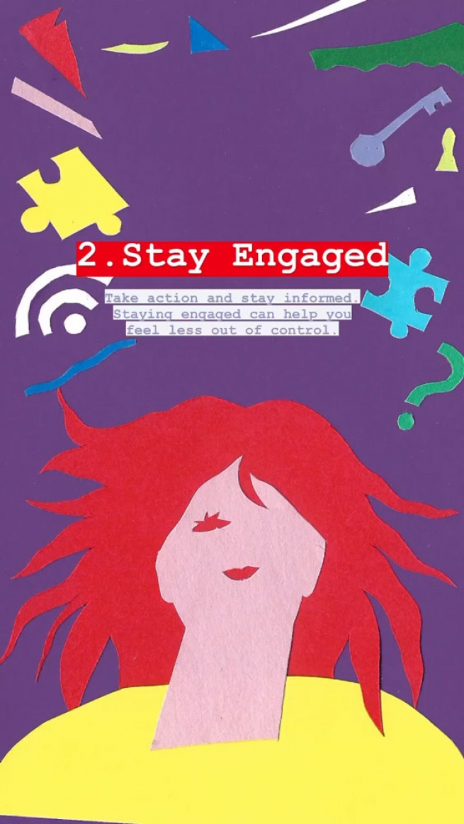 2. Stay engaged