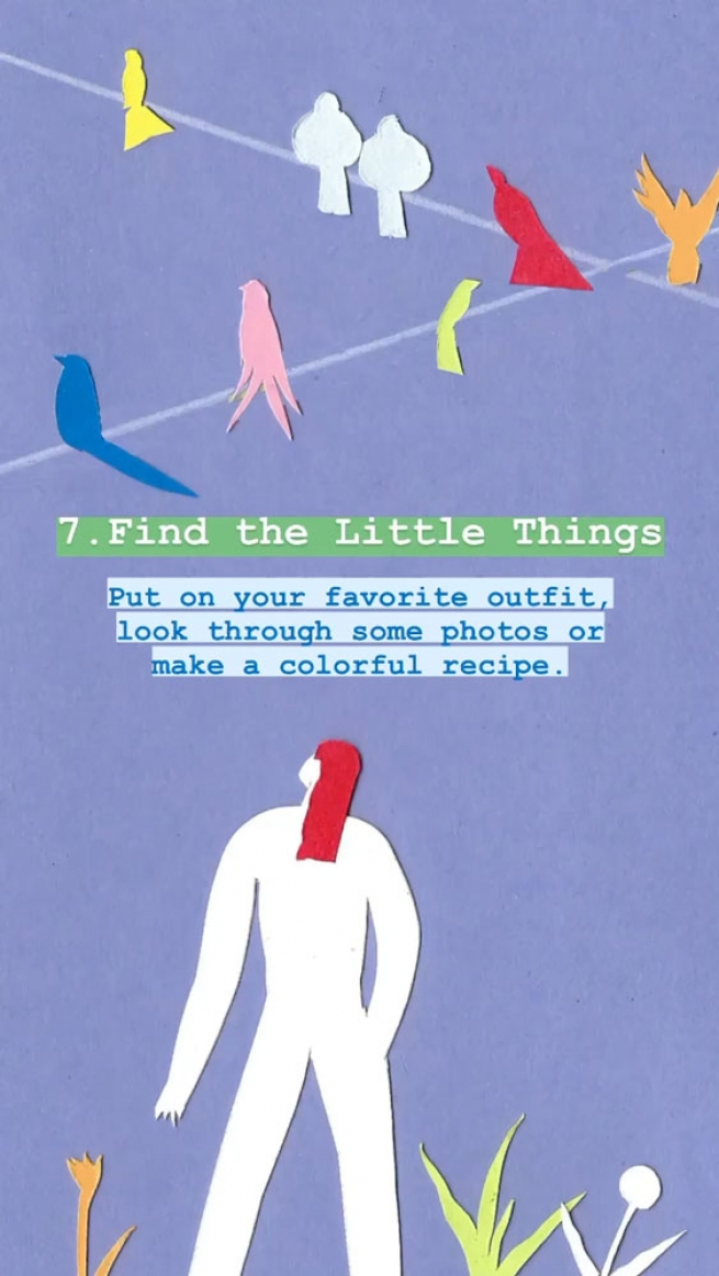 7. Find the little things