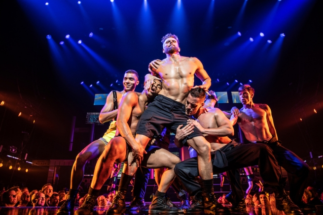 "Adam Perry Performing ""Ground Crew"" at Broadway Bares 2019"