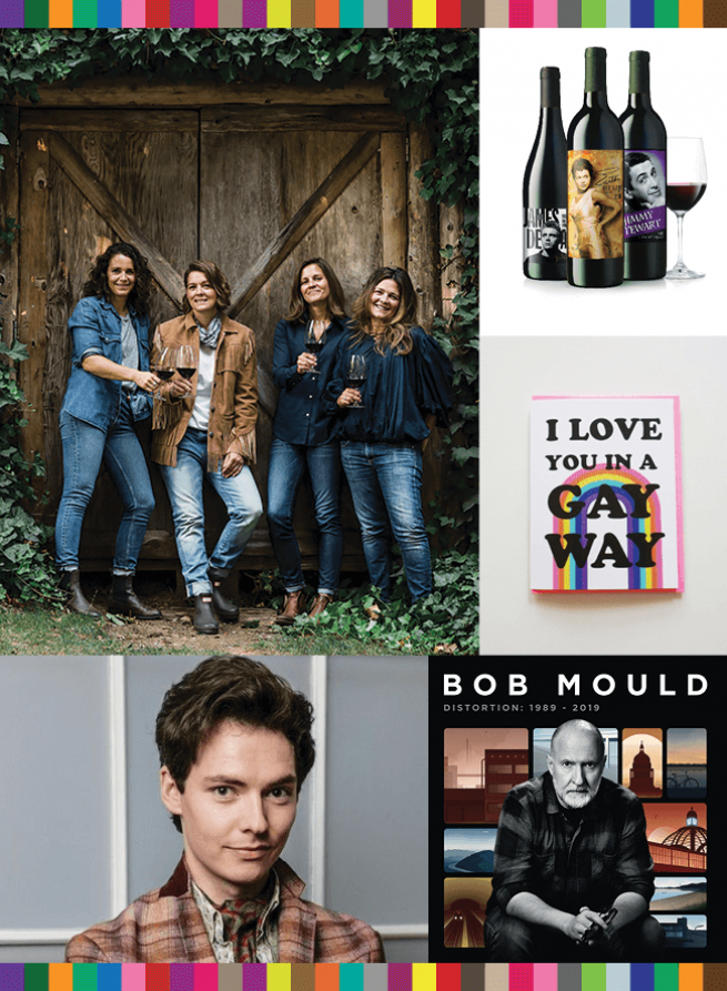 Brandi Carlile's XOBC Cellars Wine, TCM Wine Club, Ash and Chess, Shakespeare and Hathaway, Bob Mould's Distortion: 1989-2019