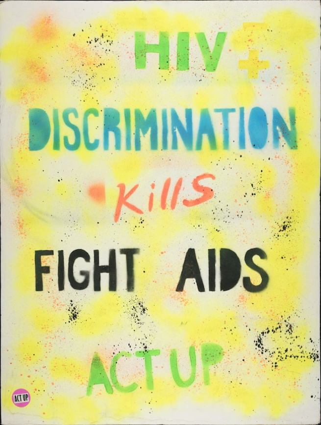 HIV Discrimination Kills. circa 1987-1996