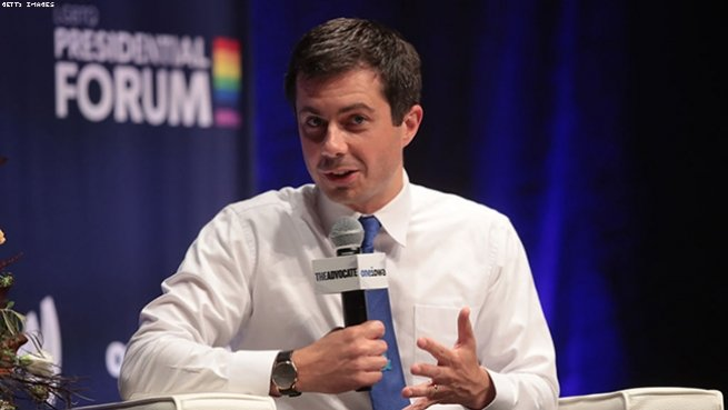 "Pete Buttigieg on ""don't ask, don't tell,"" the gay blood ban, and ""religious freedom."""