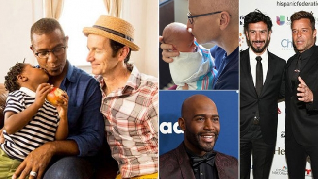 Happy Father's Day to these famous gay dads!
