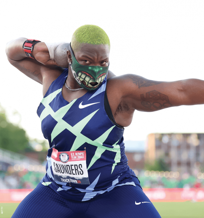 Raven Saunders — Track and Field