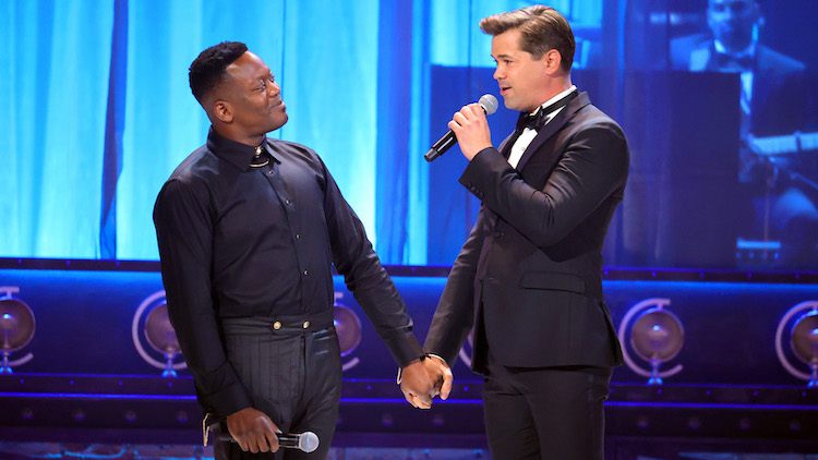 Titus Burgess and Andrew Rannells