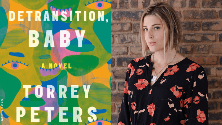 Torrey Peters and her book