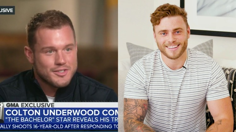 Colton Underwood and Gus Kenworthy