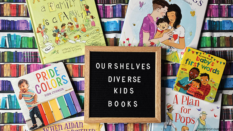 OurShelves Gets LGBTQ+ Stories Into Kids' Hands